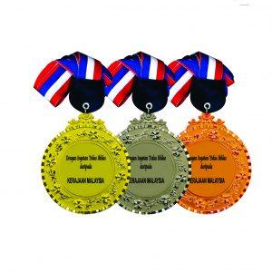 Beautiful Metal Medals CTIRM017 – Exclusive Metal Medal (Back)