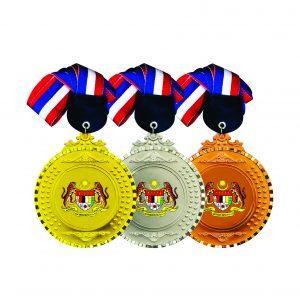 Beautiful Metal Medals CTIRM018 – Exclusive Metal Medal (Front)