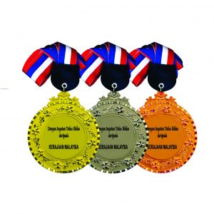 Beautiful Metal Medals CTIRM018 – Exclusive Metal Medal (Back)