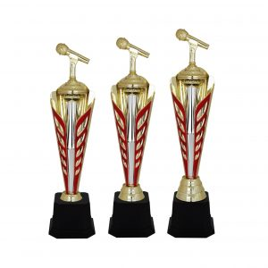 Singing Competition Acrylic Trophies CTAC4041 – Acrylic Microphone Trophy