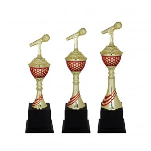 Singing Competition Acrylic Trophies CTAC4045 – Acrylic Microphone Trophy