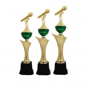 Singing Competition Acrylic Trophies CTAC4193 – Acrylic Microphone Trophy