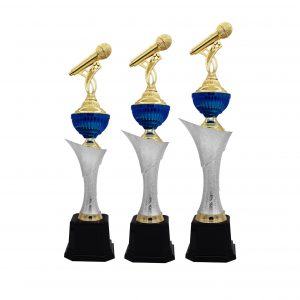Singing Competition Acrylic Trophies CTAC4194 – Acrylic Microphone Trophy