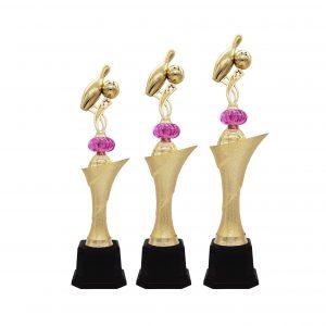 Bowling Tournament Acrylic Trophies CTAC4230 – Acrylic Bowling Trophy