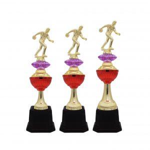 Bowling Tournament Acrylic Trophies CTAC4233 – Acrylic Bowling Trophy