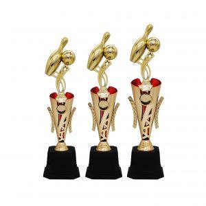 Bowling Tournament Acrylic Trophies CTAC4238 – Acrylic Bowling Trophy