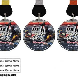 Beautiful Crystal Medals CTCR8346 – Exclusive Crystal Medal