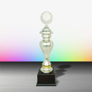 White Silver Trophies CTEXWS6012 – Exclusive White Silver Trophy