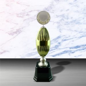 Gold colored White Silver Trophies CTEXWS6052 – Exclusive Gold White Silver Trophy