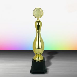 Silver Bowling Trophies CTEXWS6071 – Exclusive Gold Silver Bowling Trophy