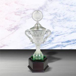 Silver Crystal Vase Trophies CTEXWS6102 – Exclusive White Silver Crystal Vase Trophy