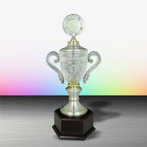 Silver Crystal Vase Trophies CTEXWS6103 – Exclusive White Silver Crystal Vase Trophy
