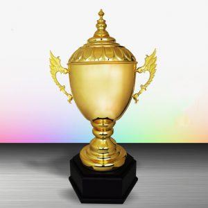 Silver Challenge Trophies CTEXWS6115 – Exclusive Gold Silver Cup Trophy (Challenge Trophy)