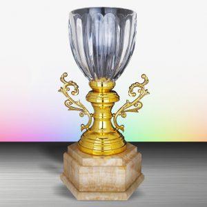 Silver Crystal Vase Trophies CTEXWS6131 – Exclusive White Silver Crystal Vase Trophy
