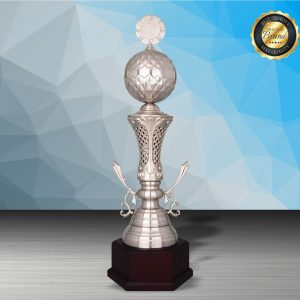 Golf Tournament Silver Trophies CTEXWS6196 – Exclusive White Silver Golf Trophy