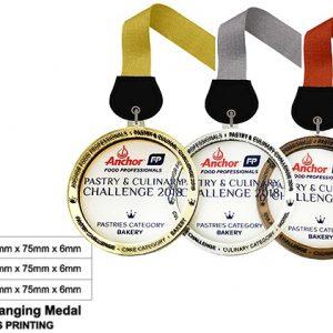 Circle Acrylic Medals CTSP5042 – Acrylic Hanging Medal