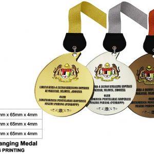 Teardrop Acrylic Medals CTSP5043 – Acrylic Hanging Medal