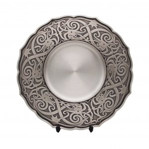 Traditional Pewter Series CTWP7223 – Traditional Motion Pewter Tray